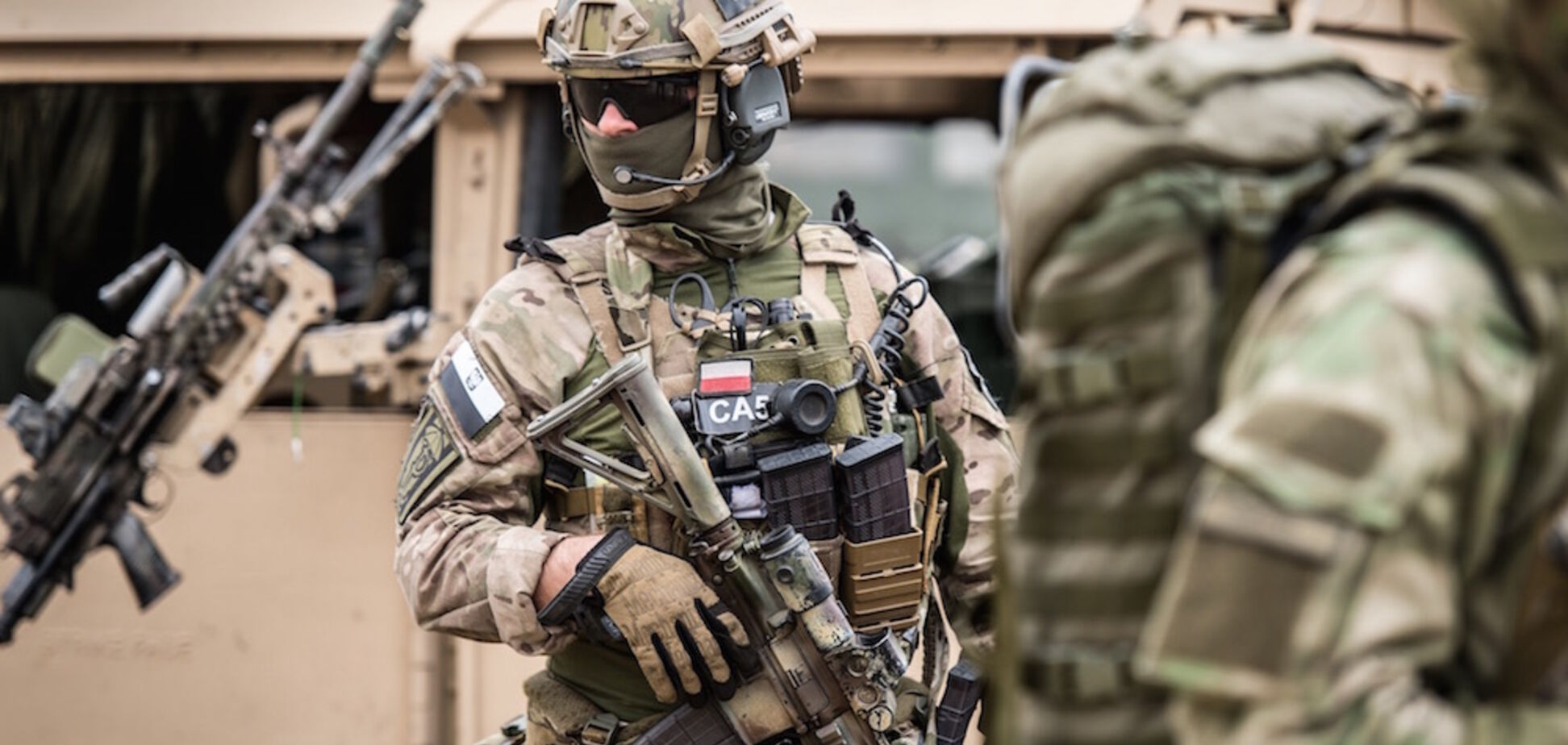 На Донбасс зашел 'польский спецназ': в 'ДНР' закатили истерику
