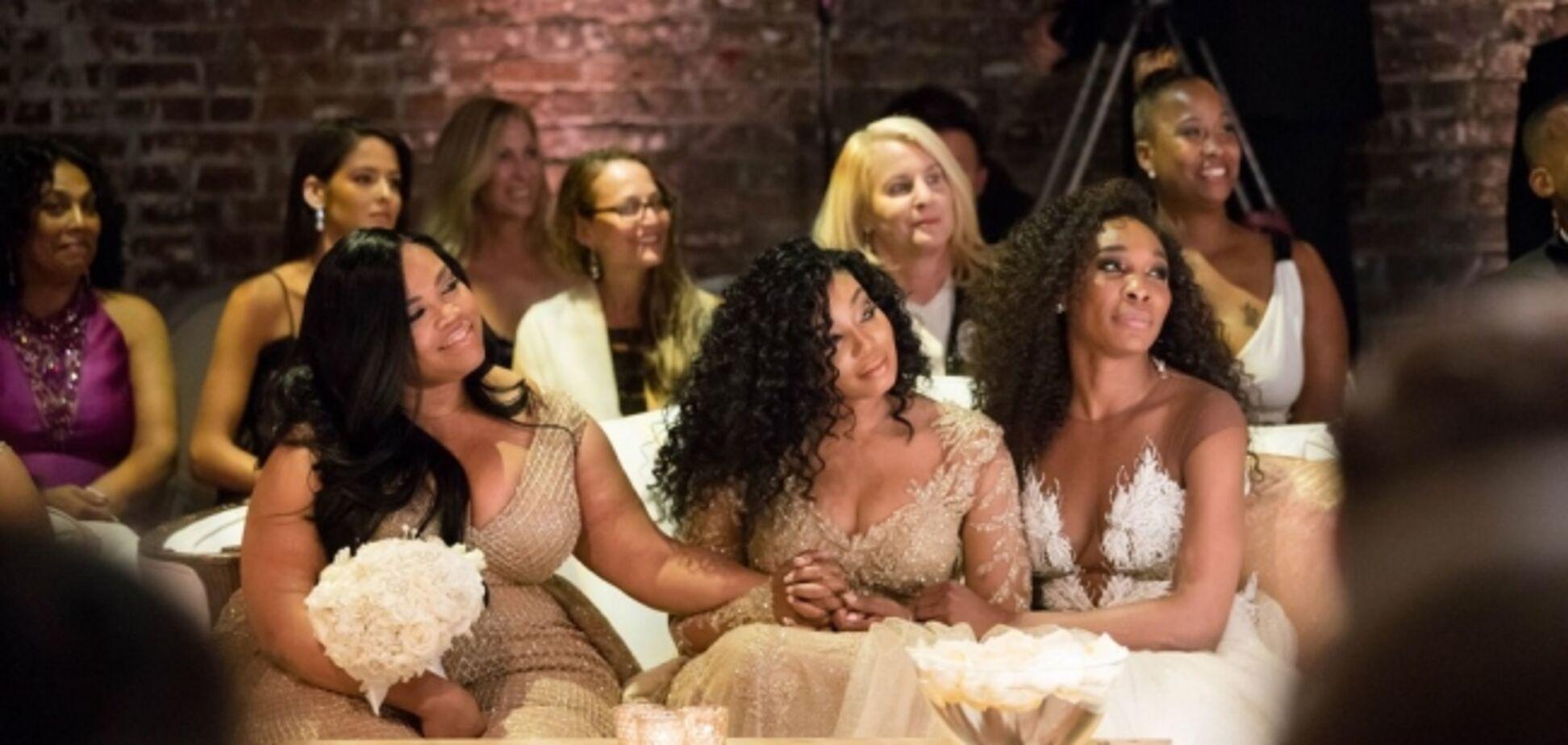 Свадьба Серены Уильямс