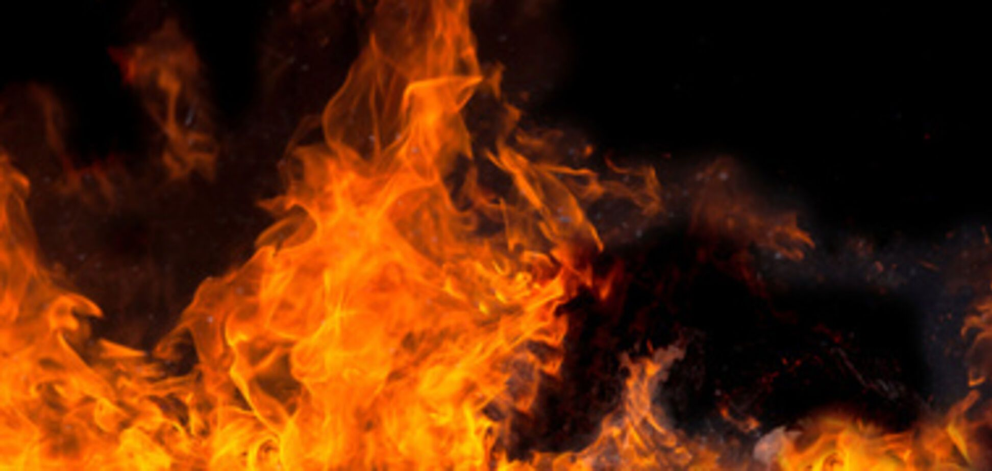 На Харьковщине заживо сгорел годовалый ребенок