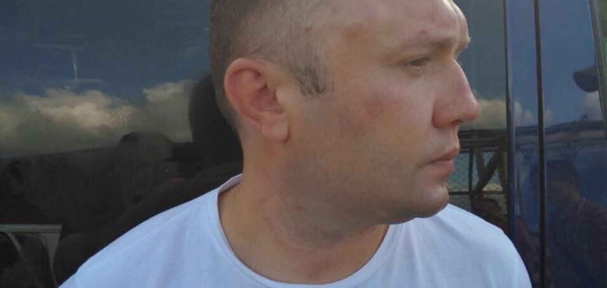 Заарештованого луганського 'активіста' засікли під Києвом: опубліковано відео