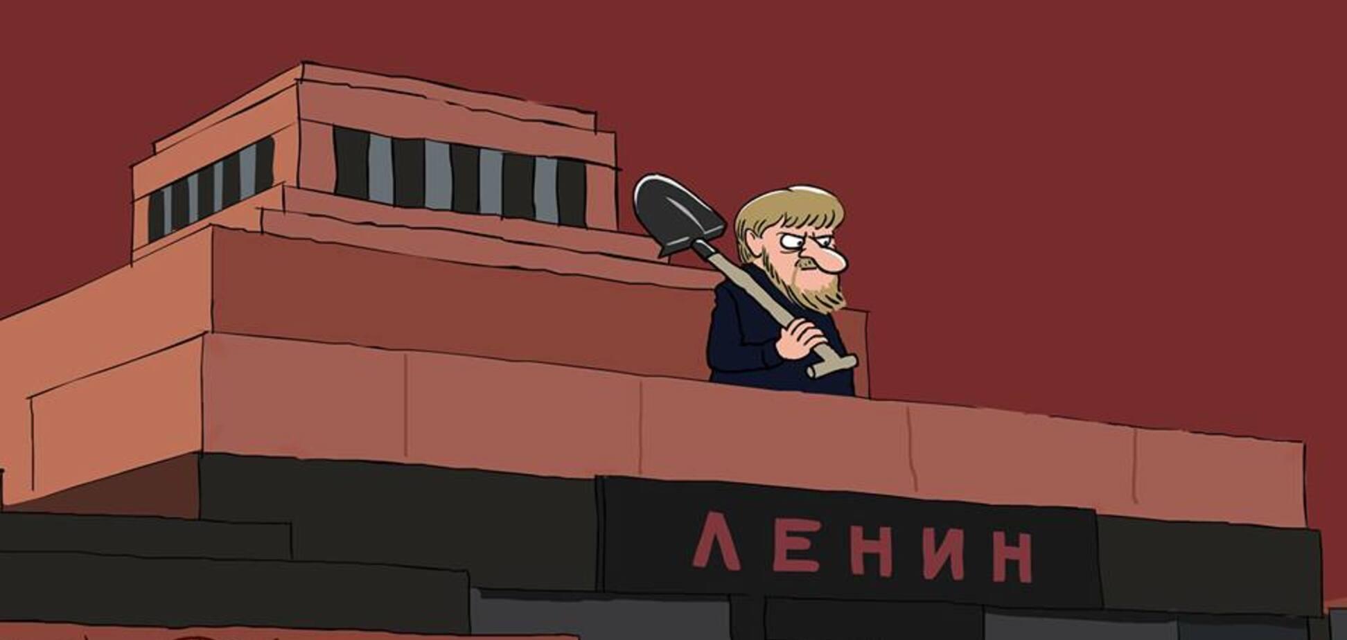 'Пора міняти Вову на Вову': Йолкін постібався над ленінською ідеєю Кадирова