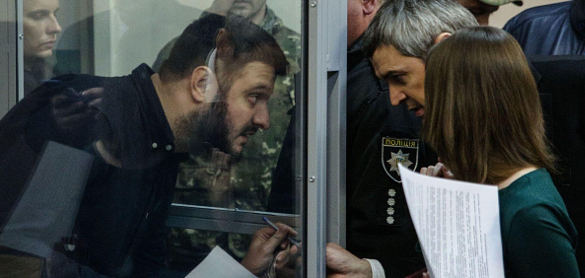 Был даже Яценюк: сына Авакова засекли в МВД сразу после освобождения