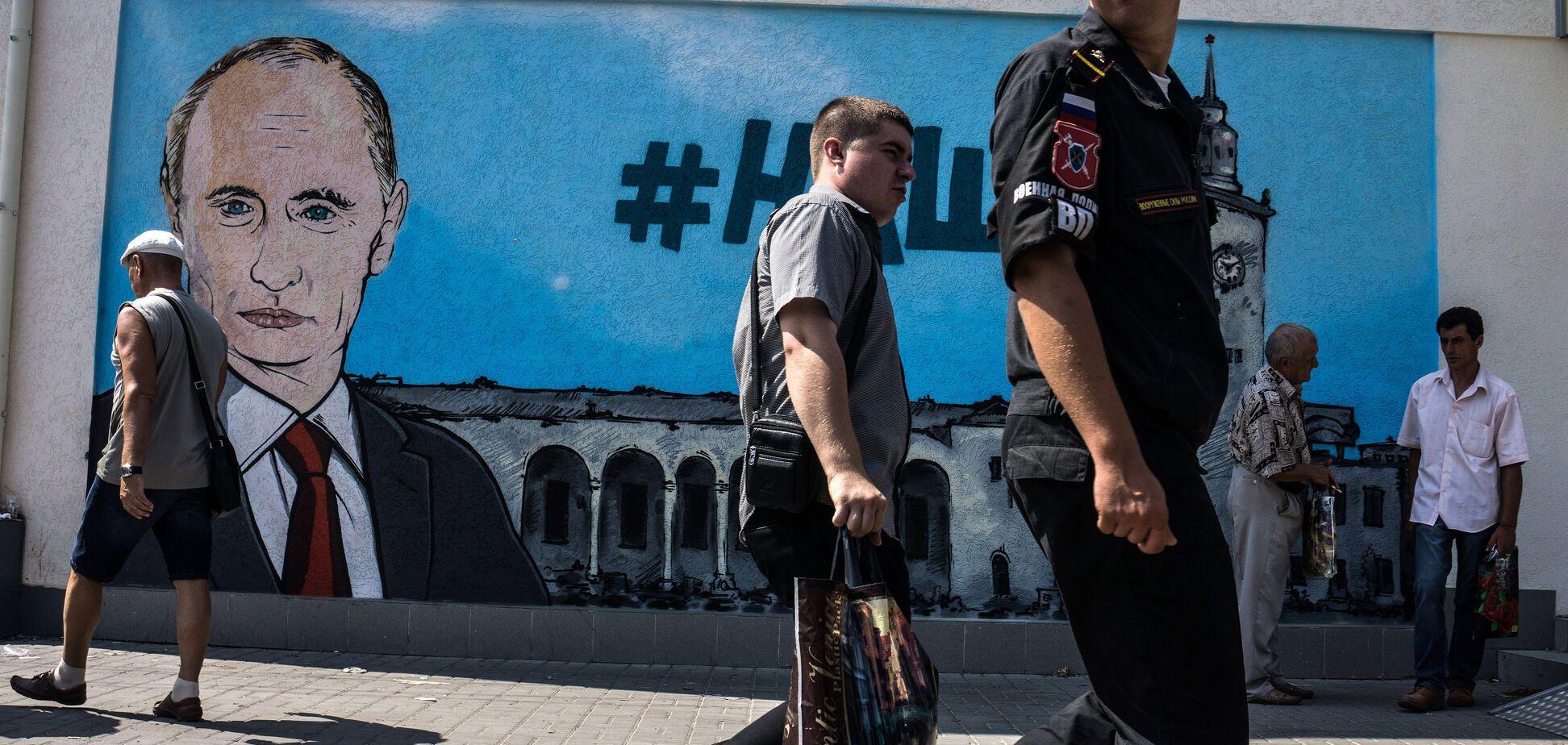 'Кримчан оголосять шпигунами': окупованому півострову пророкують незавидну долю