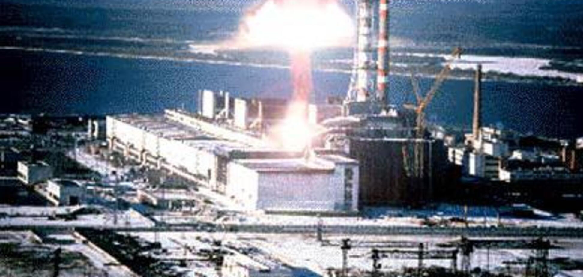 ЧАЭС, Чернобыль, взрыв