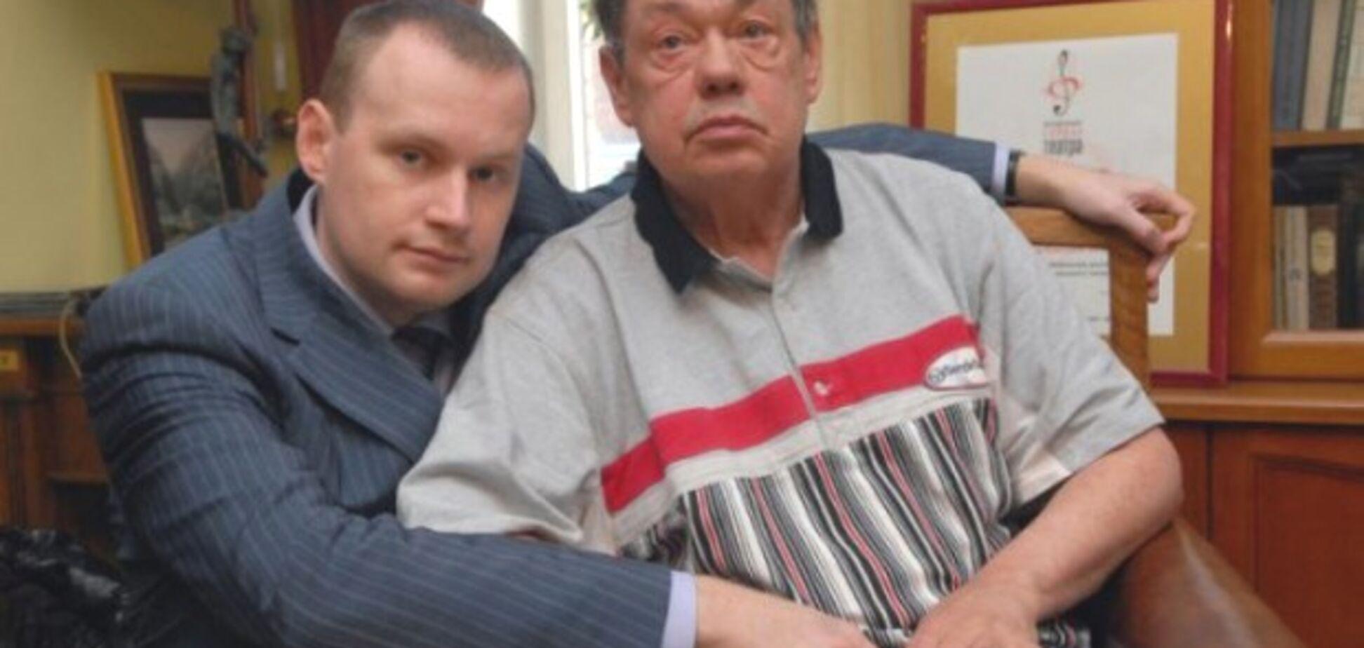 Сын смертельно больного Караченцова поблагодарил Бога за ДТП отца