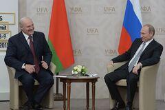 Как кремлевский диктатор подставил грабли Лукашенко