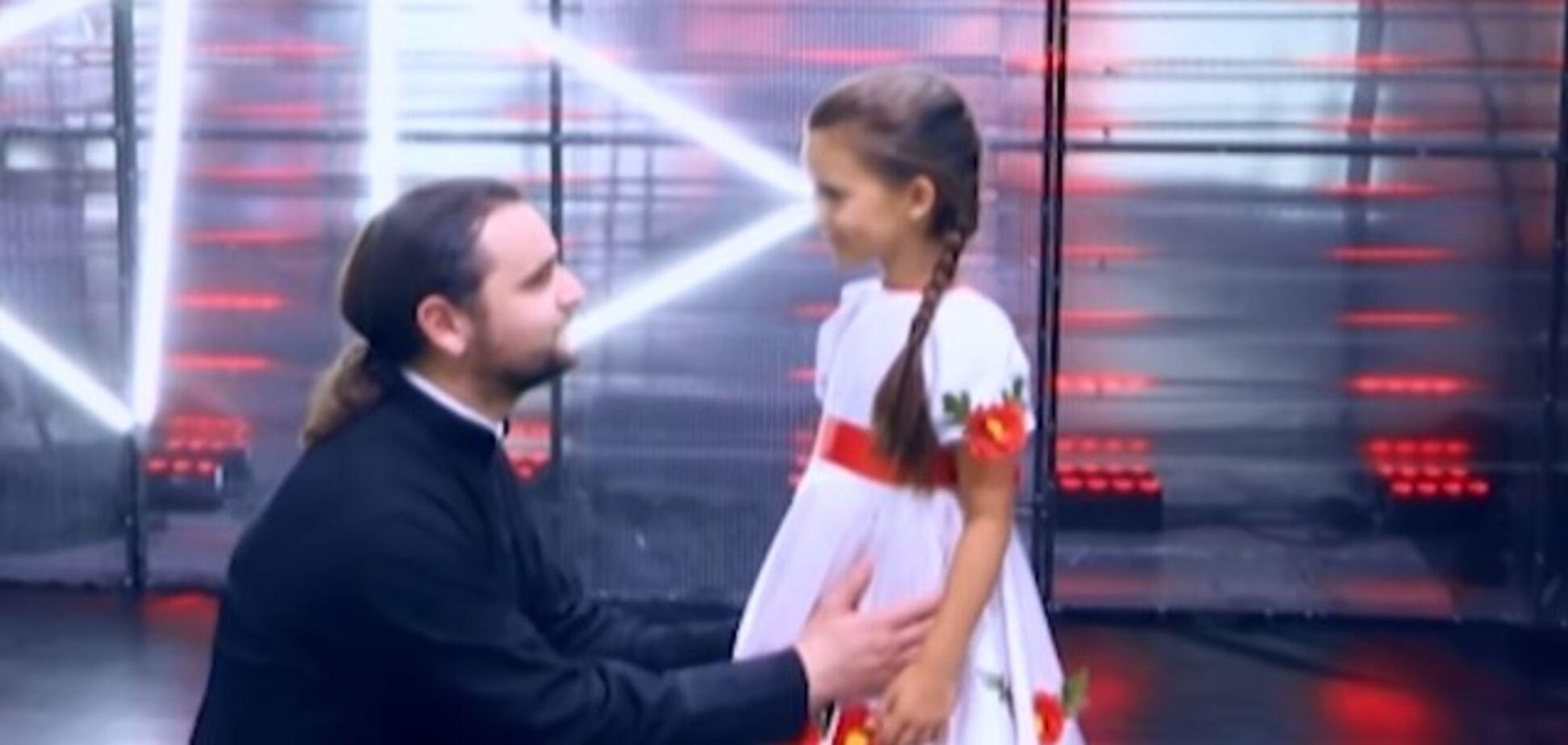 'Много фальши': выступление дочери священника на 'Голос.Діти' вызвало споры в сети