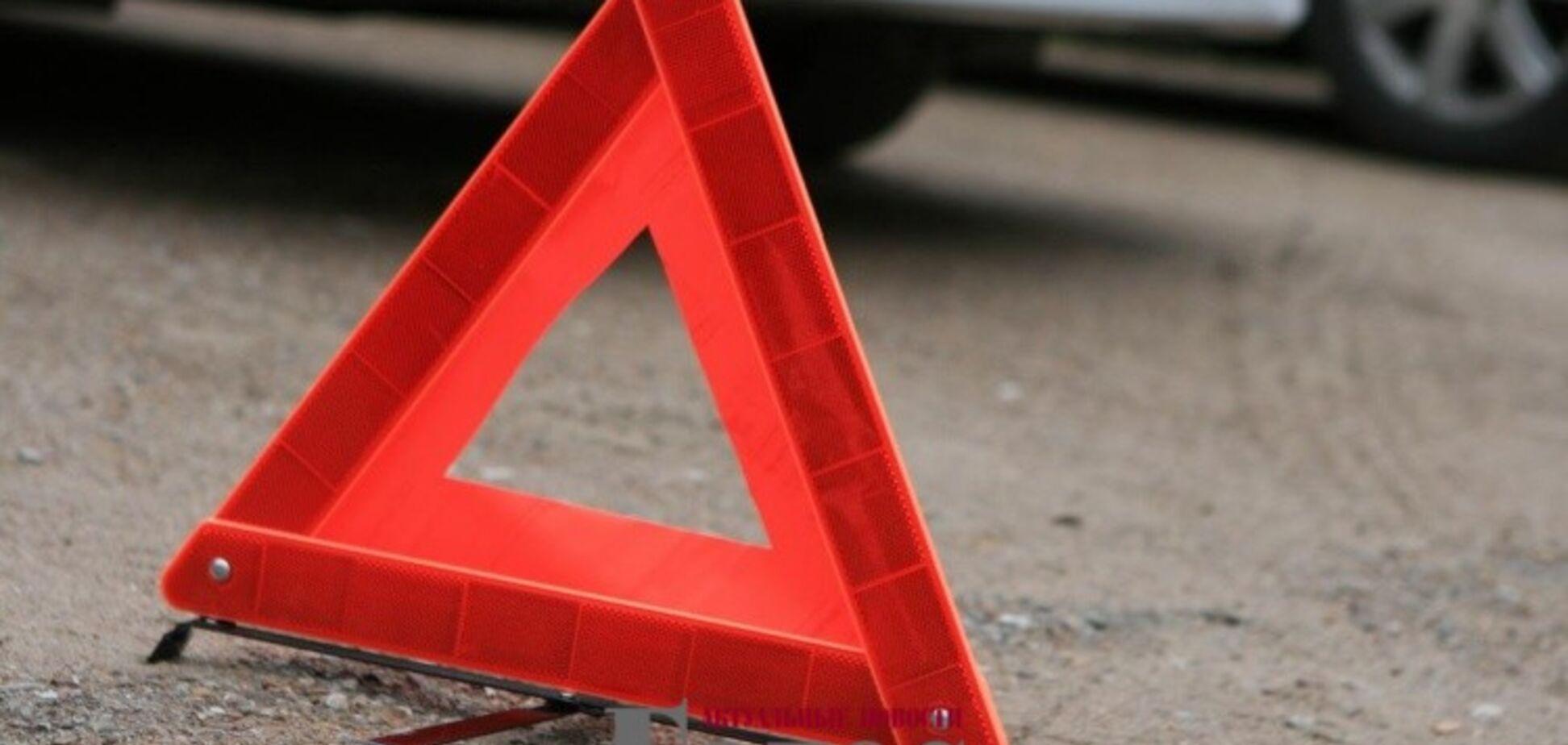 В Запорожской области водитель Daewoo сбил ребенка (ФОТОФАКТ)