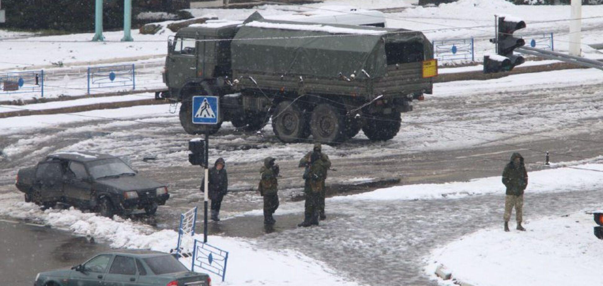 'В здание вошли сотни вооруженных людей': 'прокуратуру' 'ЛНР' взяли штурмом