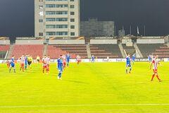 'Динамо' проиграло албанцам в пятом туре Лиги Европы