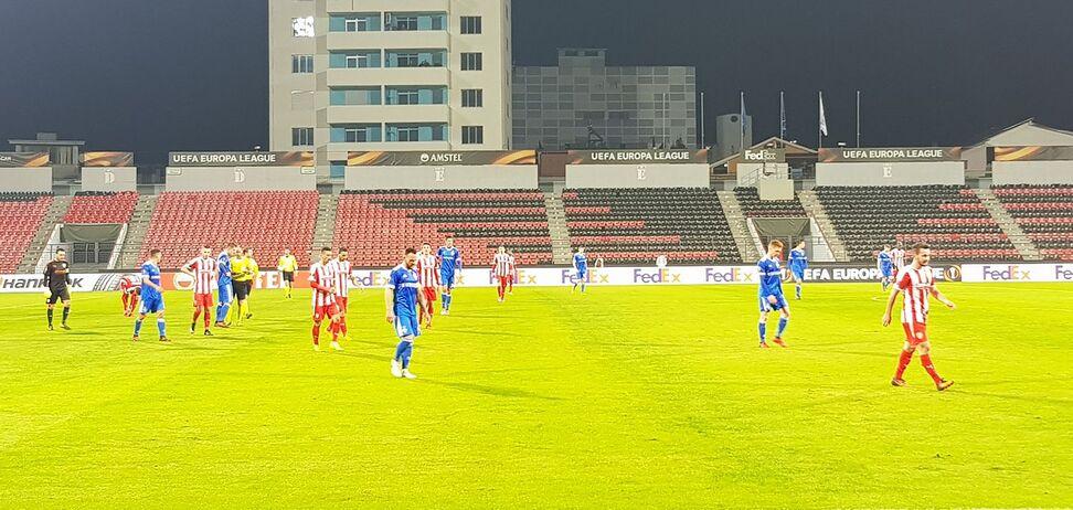 'Динамо' програло албанцям у п'ятому турі Ліги Європи