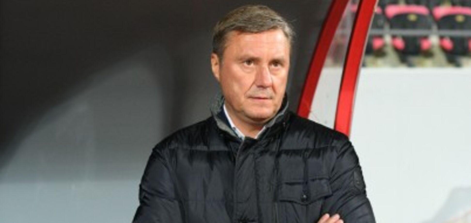 'Просто огидно': Хацкевич дав прочуханки захисникам 'Динамо'