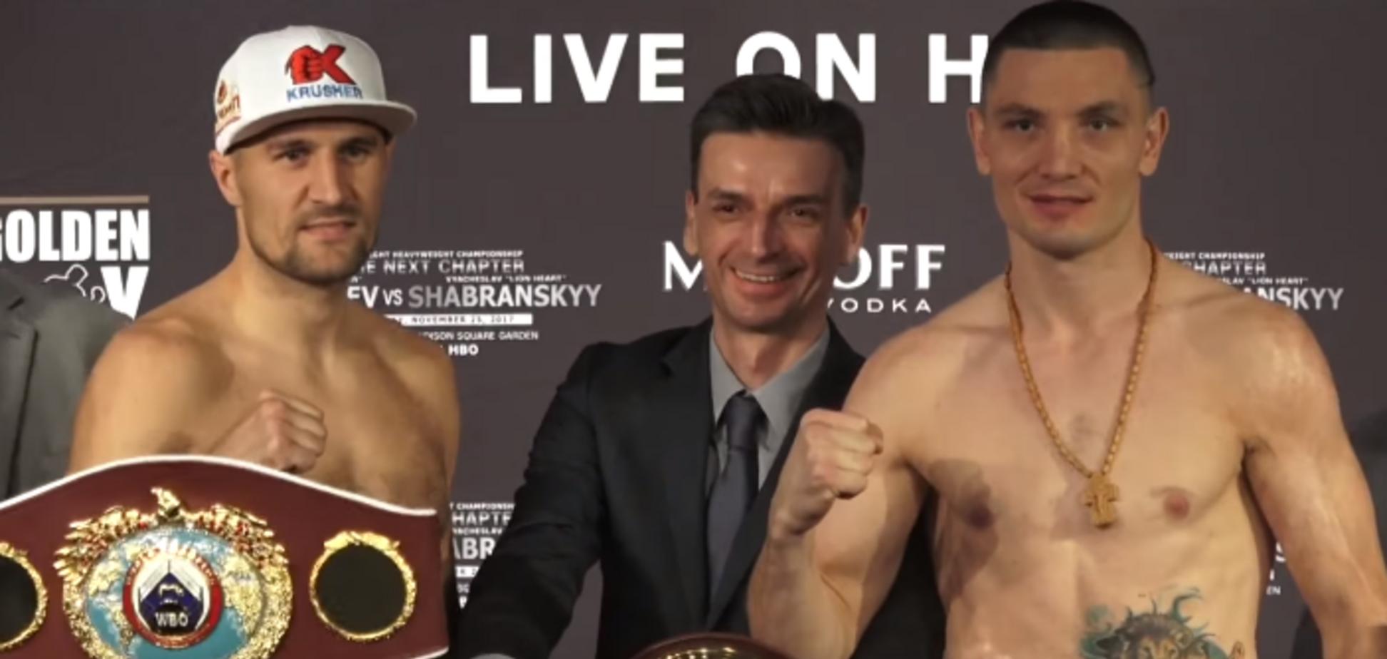 Український боксер виграв зважування напередодні чемпіонського поєдинку з кращим бійцем Росії