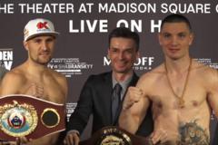Украинский боксер выиграл взвешивание накануне чемпионского поединка с лучшим бойцом России