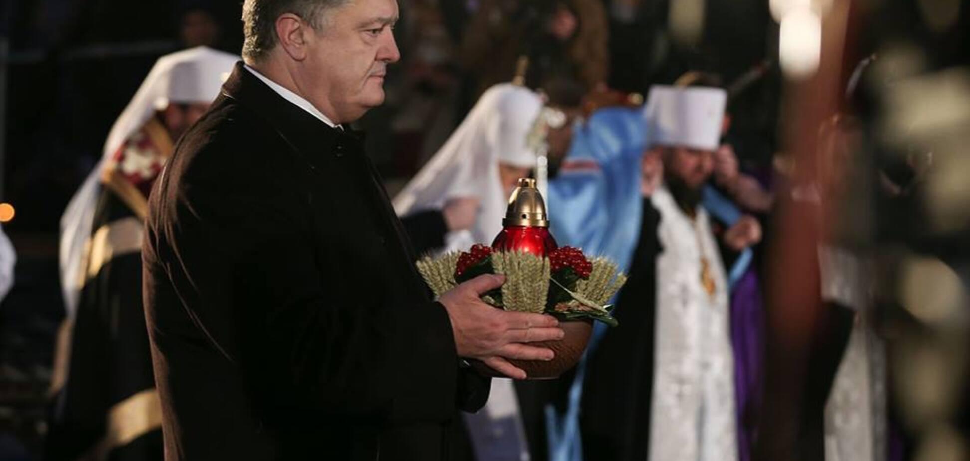 'Политика уничтожения': Порошенко заявил об ответственности РФ за Голодомор