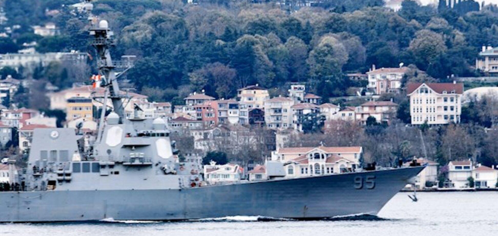 Это не озеро России: адмирал пояснил задачи эсминца США в Черном море