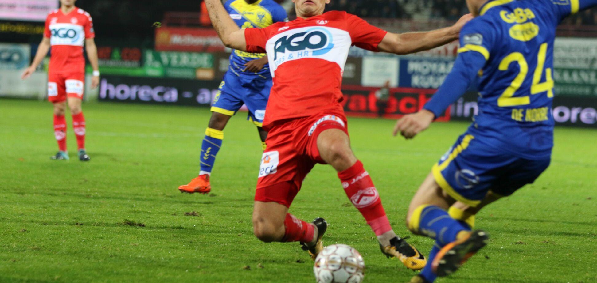 Украинский экс-футболист 'Динамо' отметился автоголом уже на 40-й секунде матча чемпионата Бельгии: опубликовано видео