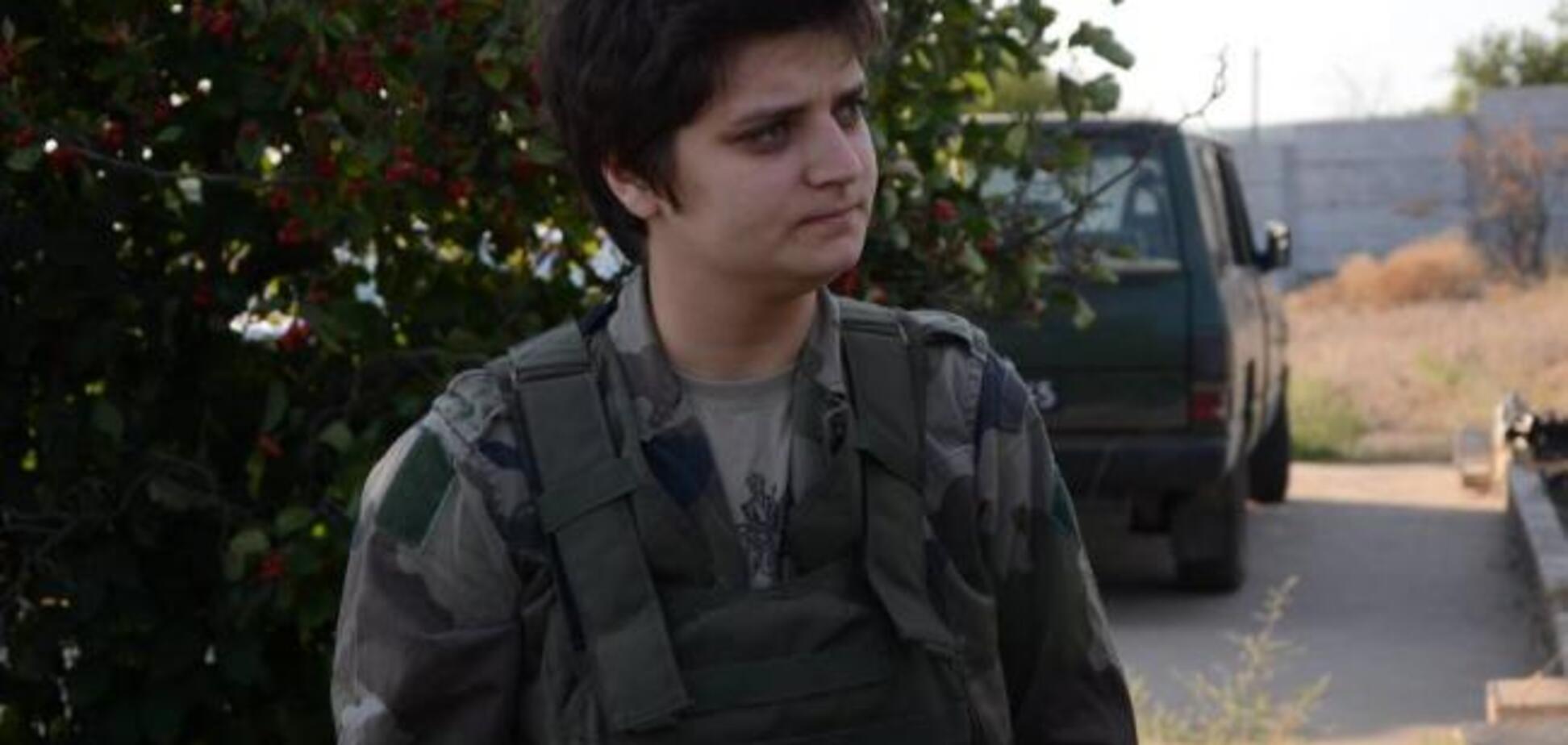 В Киеве избили АТОшницу