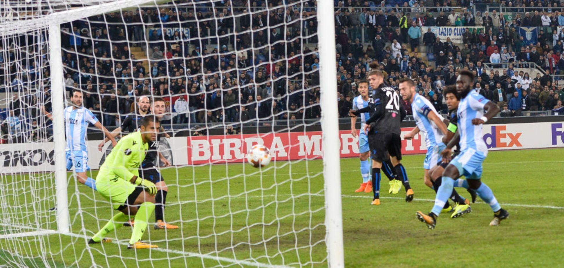 Нуль ударів, один гол: у Лізі Європи зіграно унікальний футбольний матч