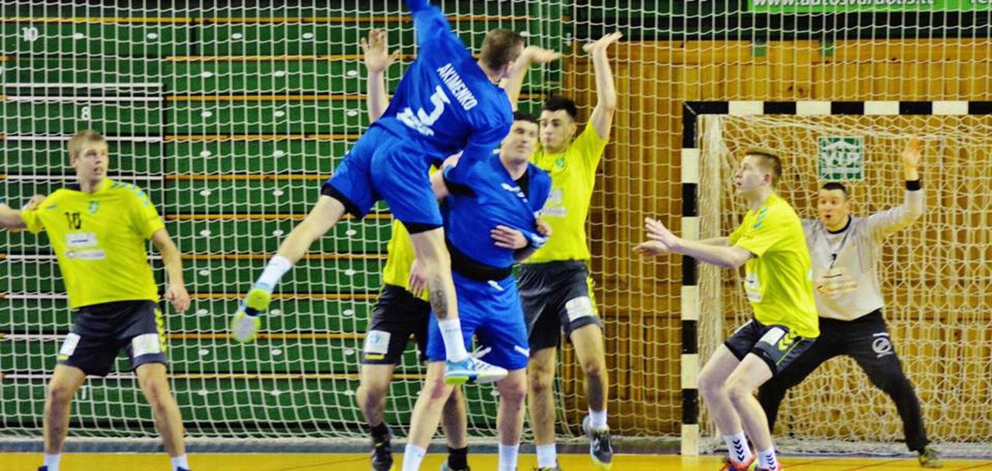 В Запорожье пройдет матч Балтийской лиги по гандболу
