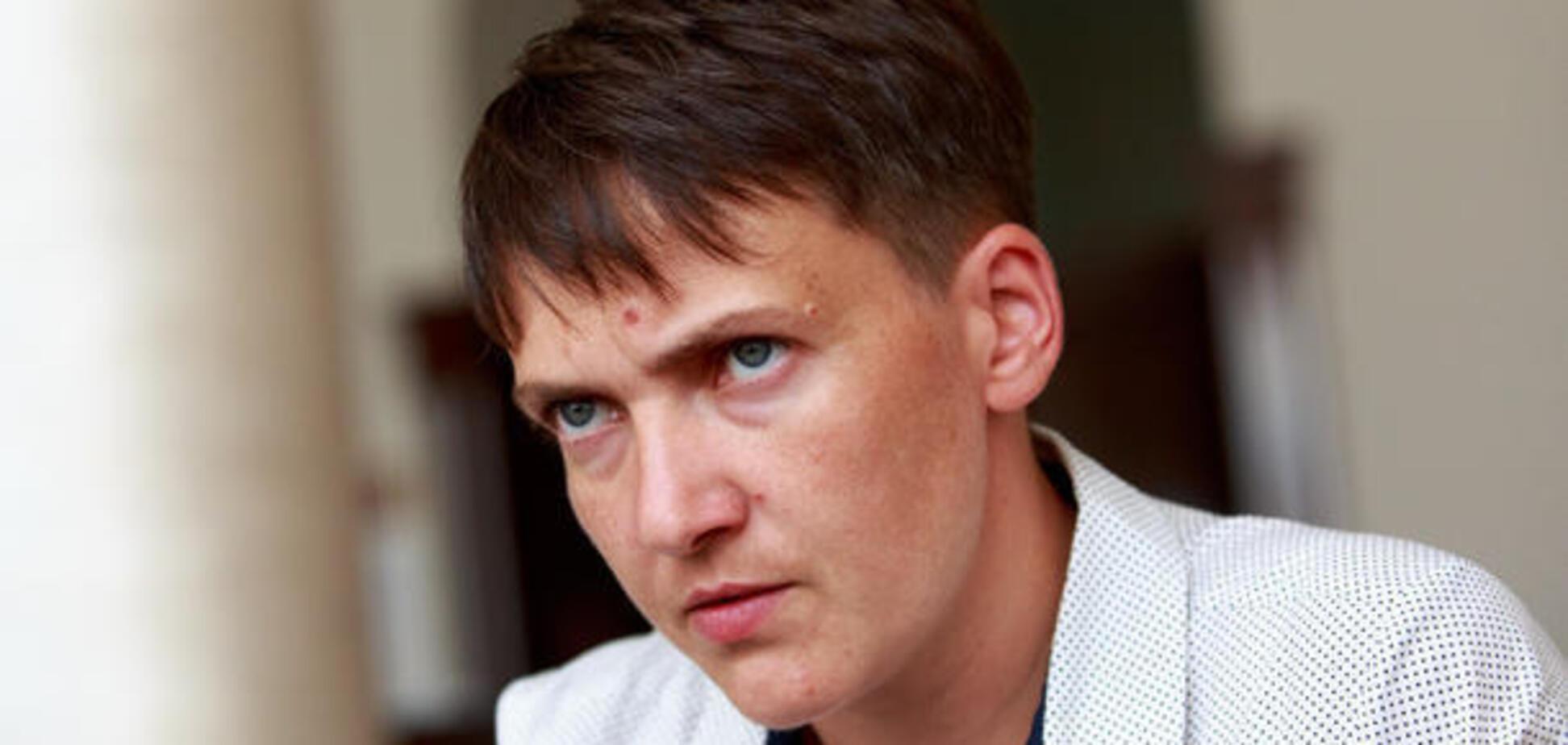 Ганьбить всю Україну: дипломат назвав Савченко небезпечною бомбою