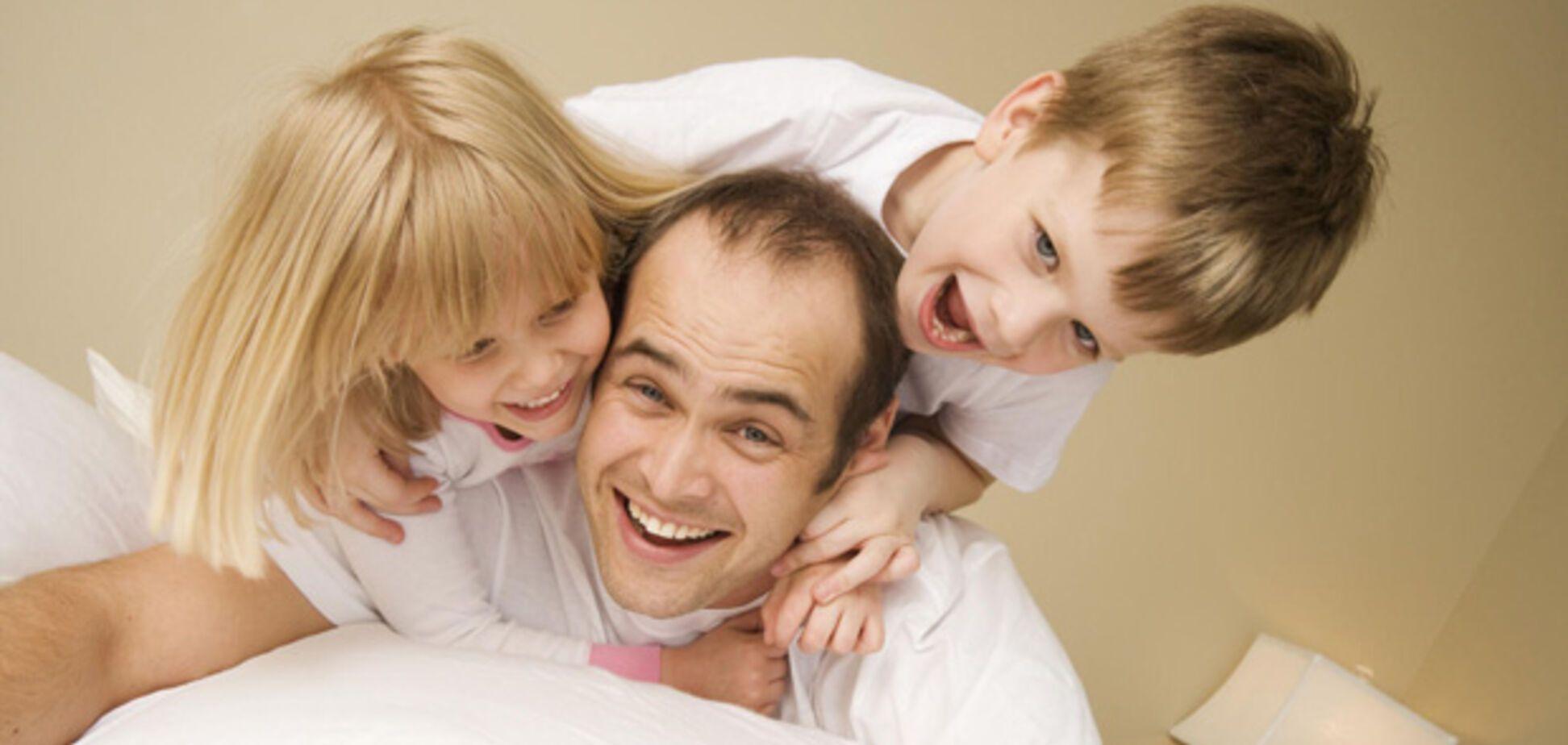 Нет ничего прекраснее отцовства