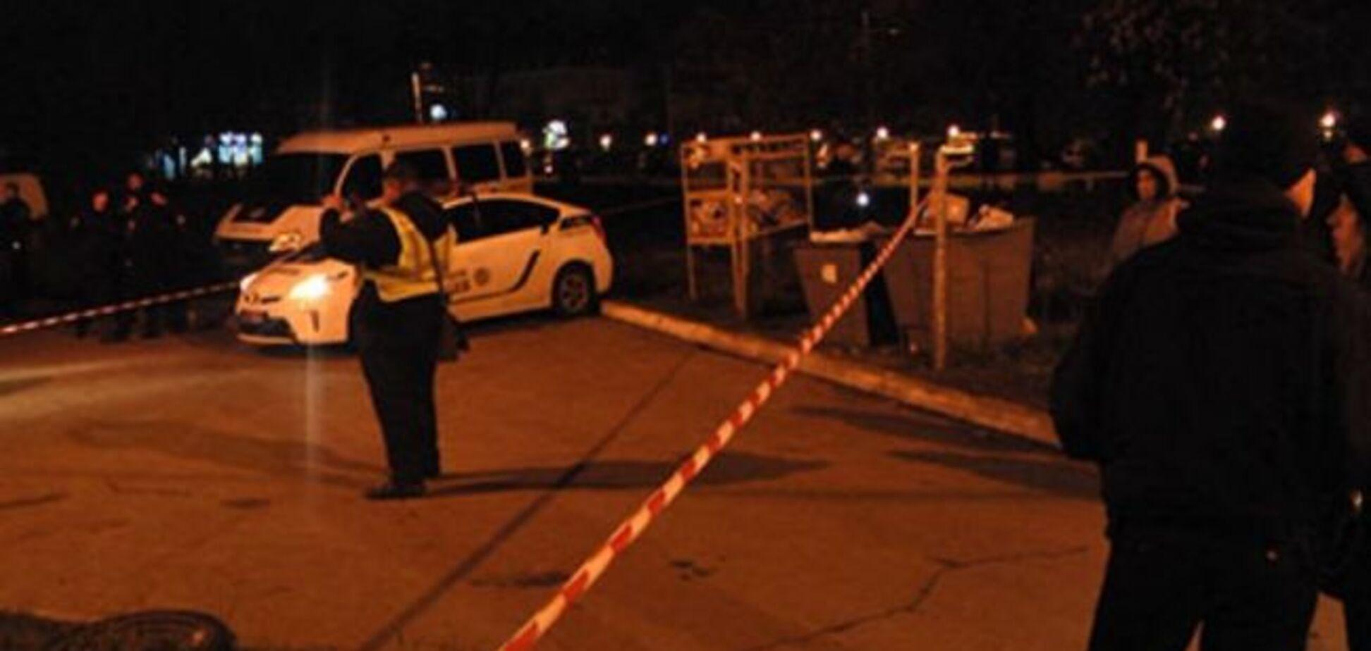 Расстрел авто в Харькове