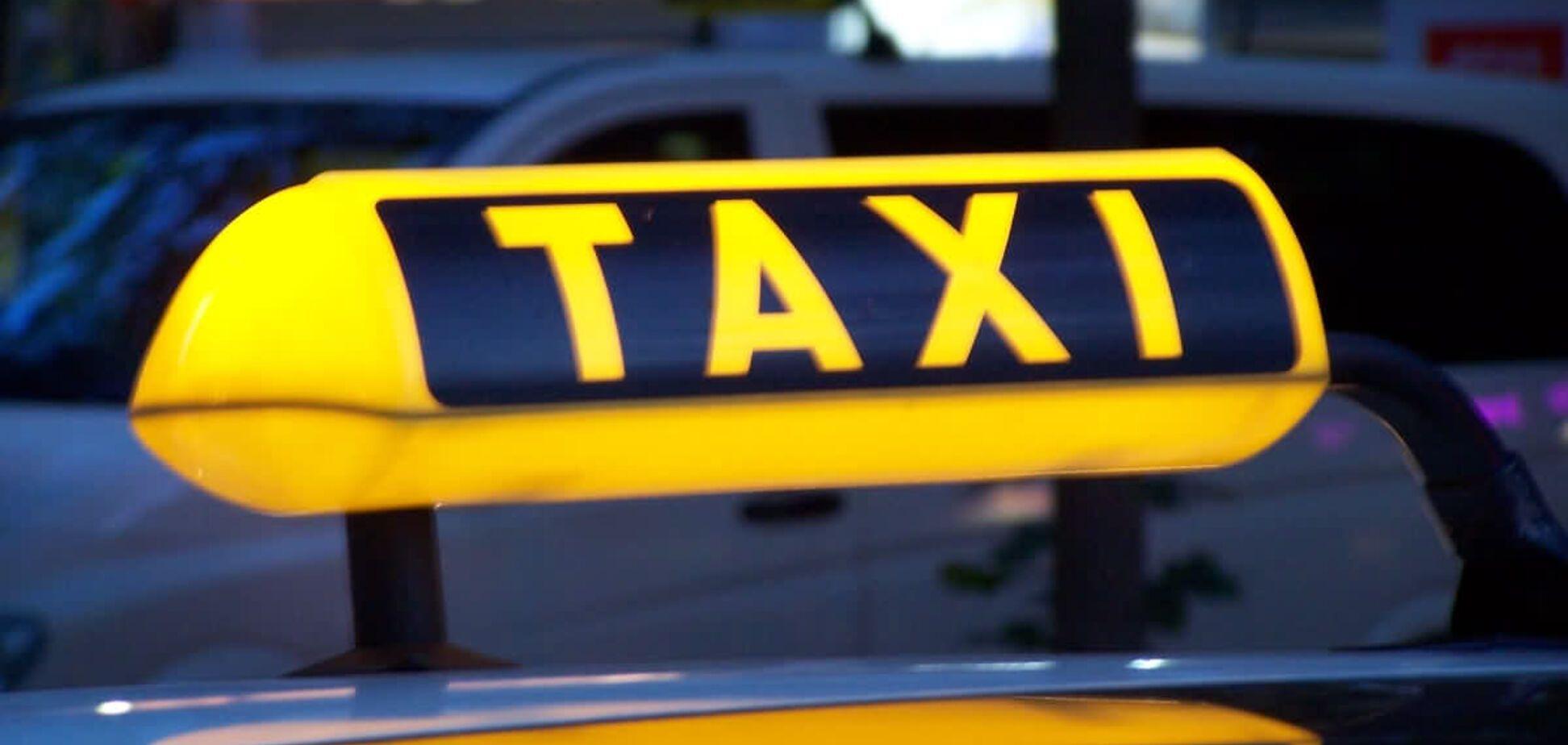 Такси, таксист, Киев