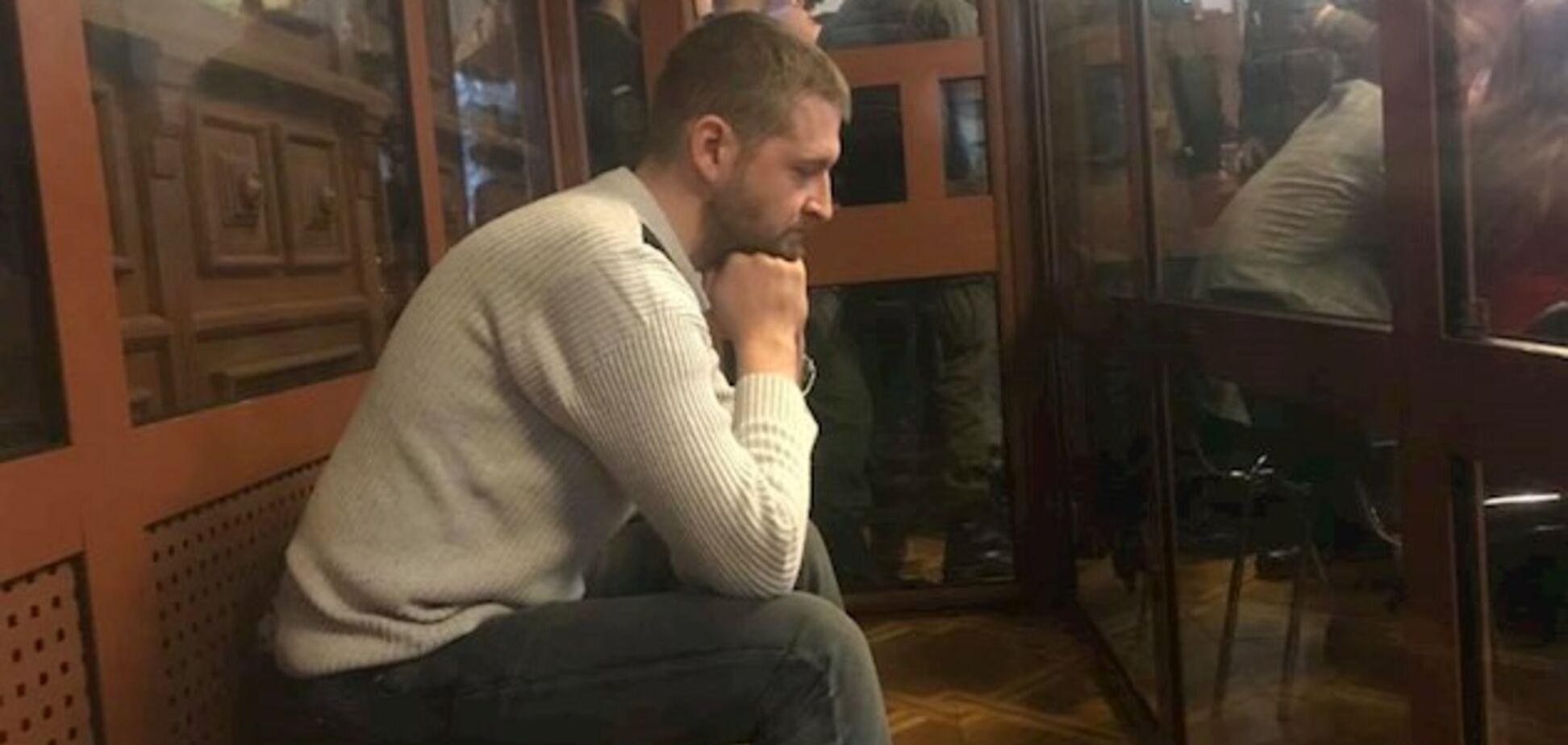 Сергей Колмгоров в зале суда