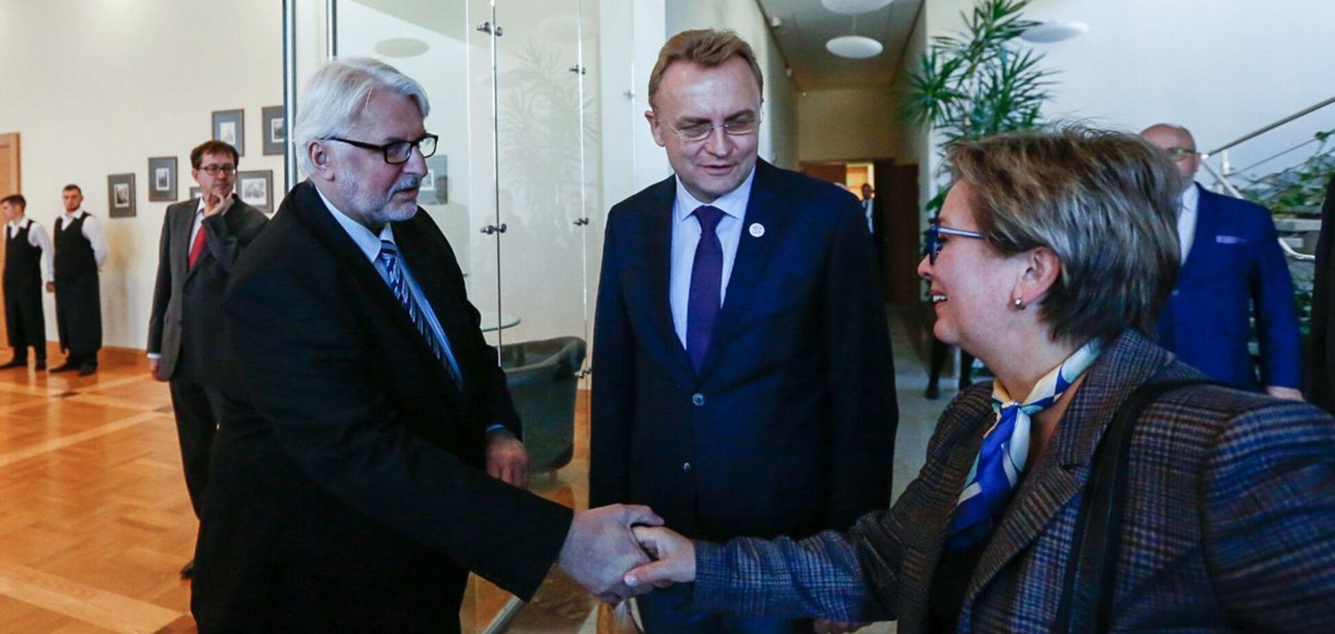 Мэр Львова провел закулисную встречу с польским министром-украинофобом: появились детали