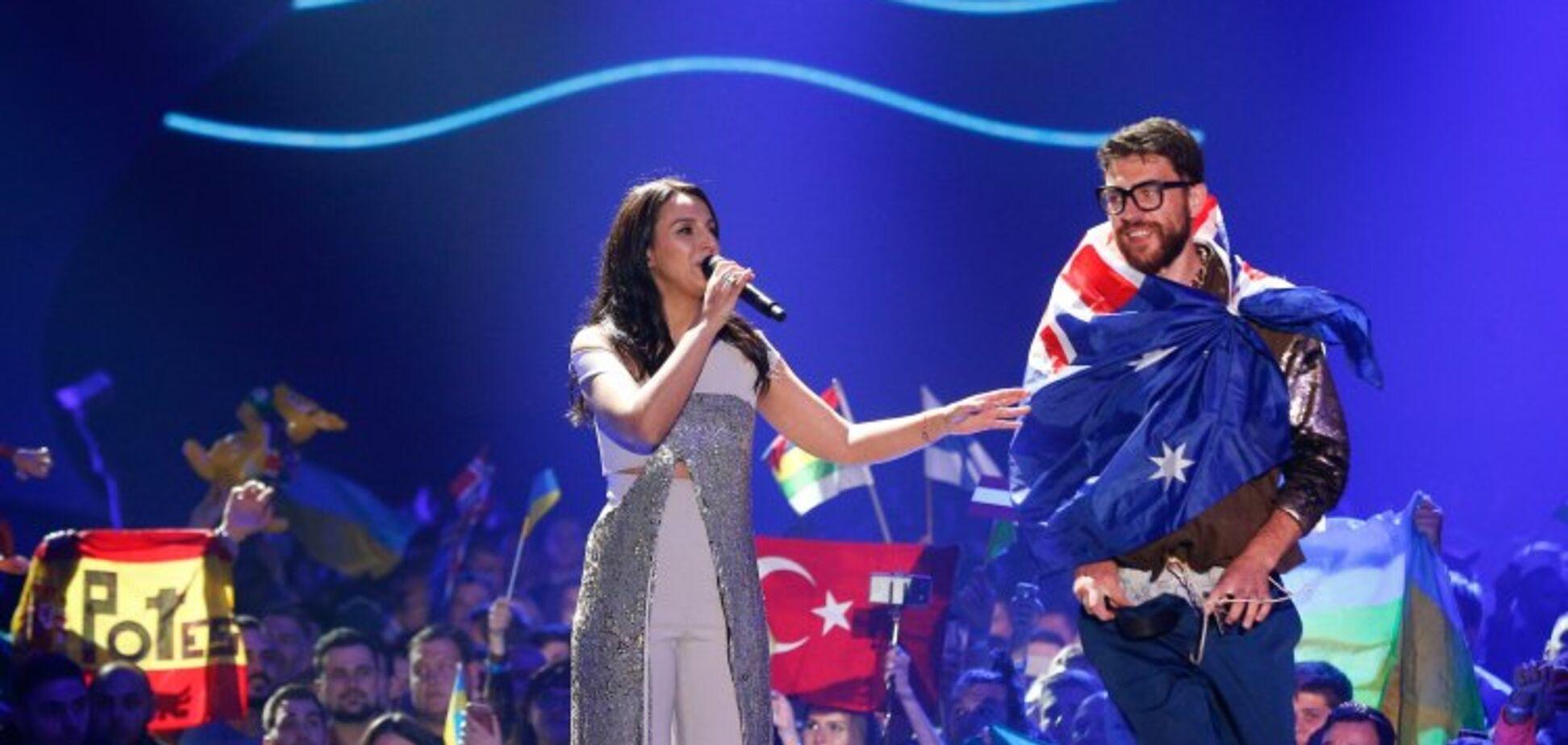 'С моим лучшим другом': голозадый герой 'Евровидения' удивил неожиданным селфи