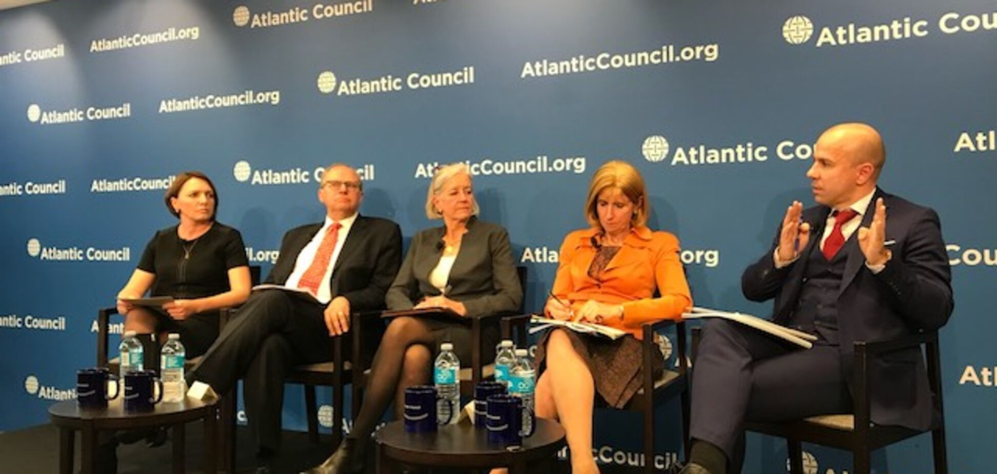 Burisma Group, Atlantic Council