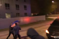 Толкали и били локтями: появилось видео нападения охраны Медведчука на журналистов