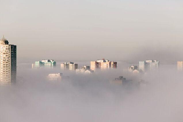 Погода на пятницу: туман и дожди