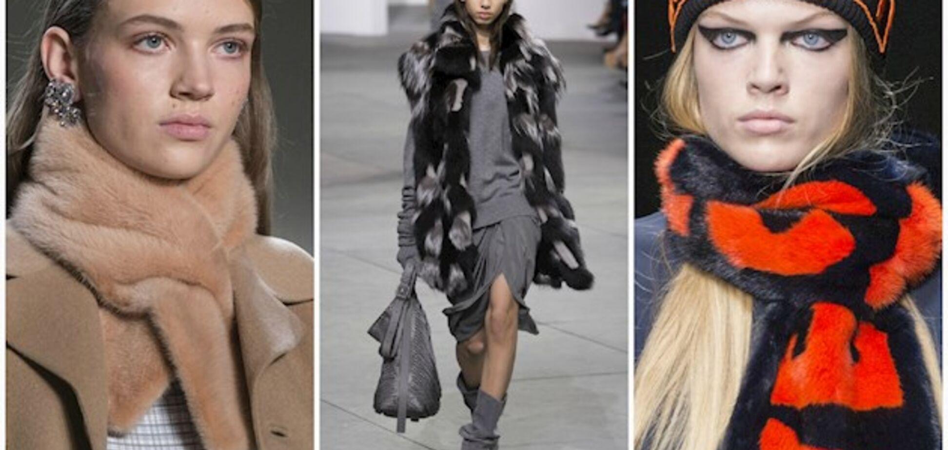 Модные аксессуары зима 2018