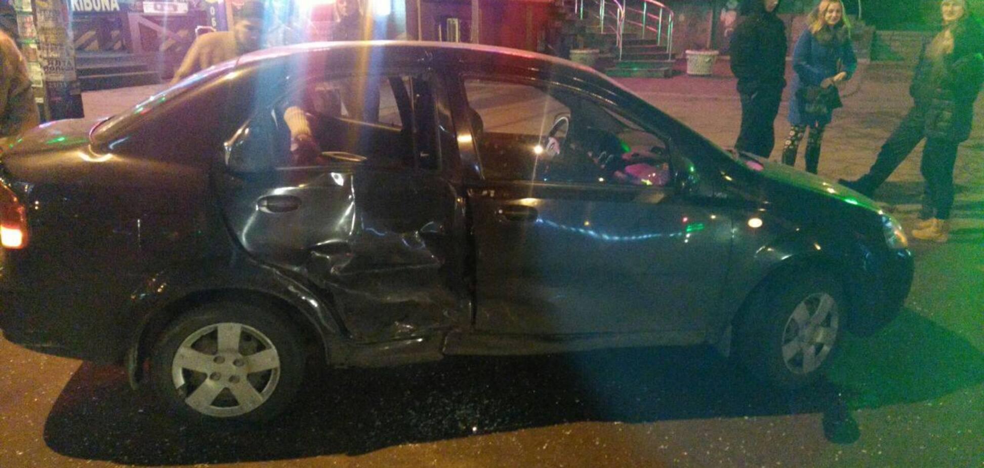 Запорожские инкассаторы попали в аварию