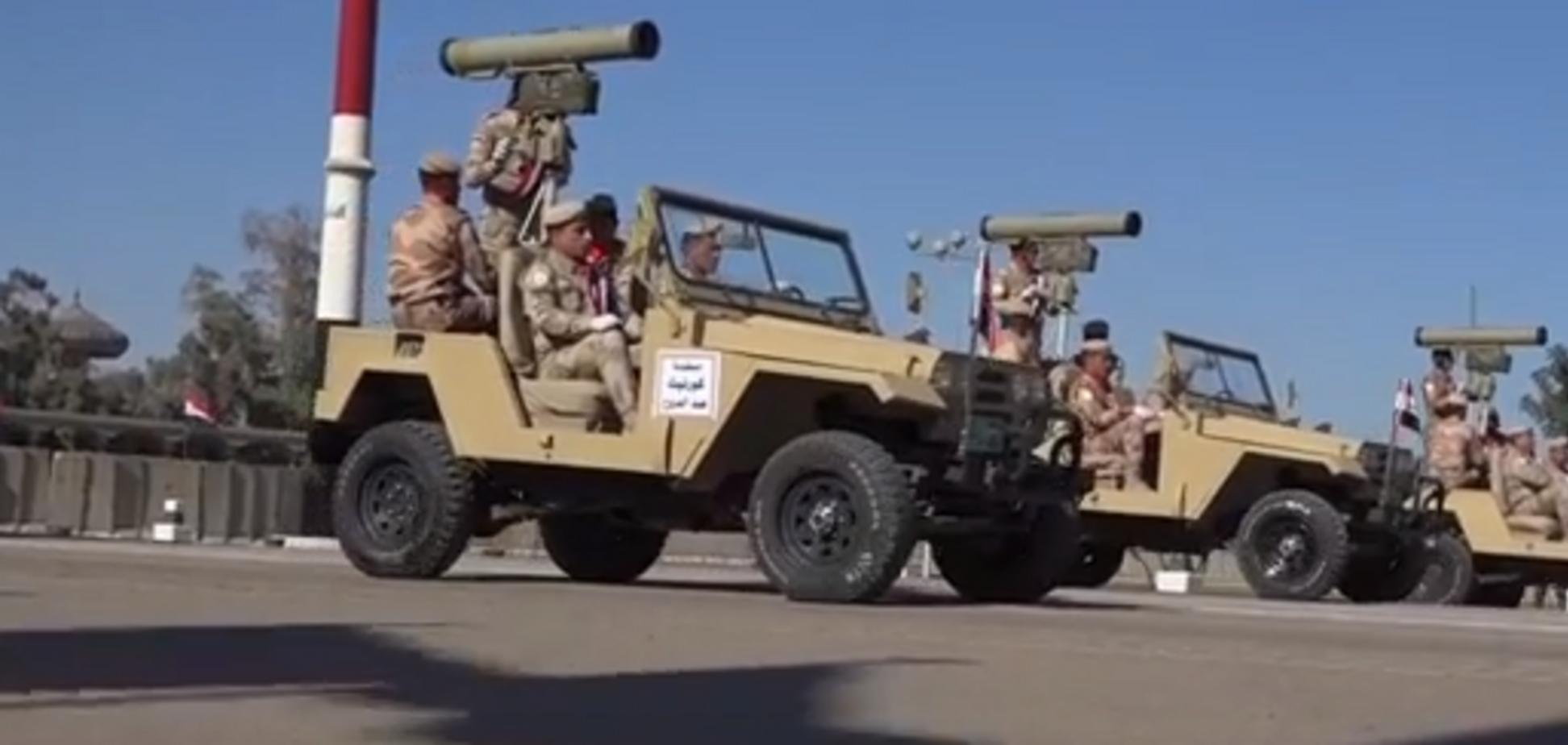 Военный парад в Ираке