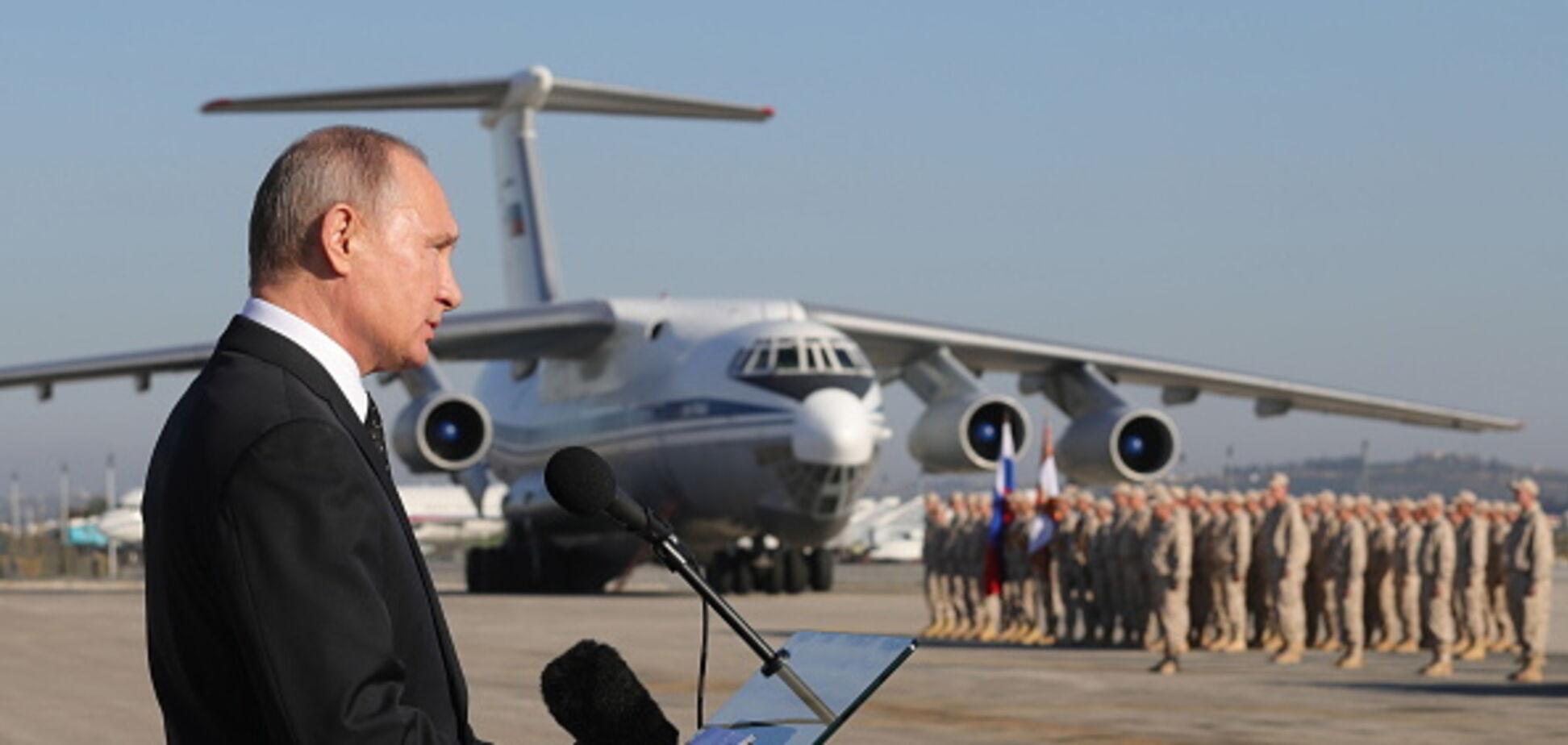 Виведення російських військ із Сирії: у заяві Путіна побачили підступ