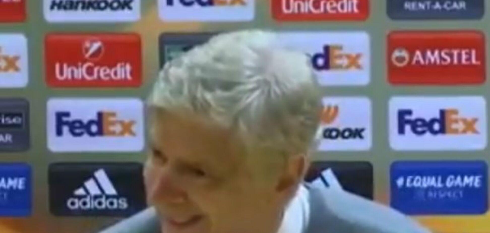Легендарний тренер 'Арсеналу' оригінально передав привіт 'Шахтарю': фотофакт
