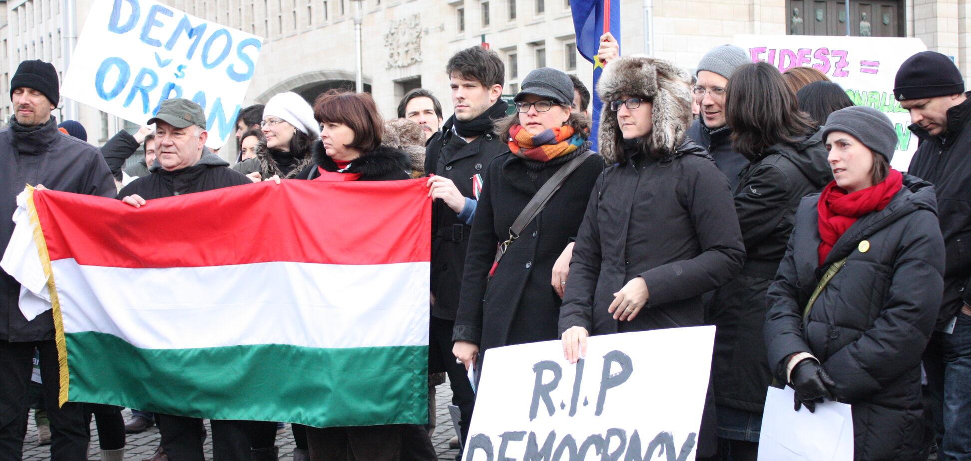 Мовний скандал з Угорщиною