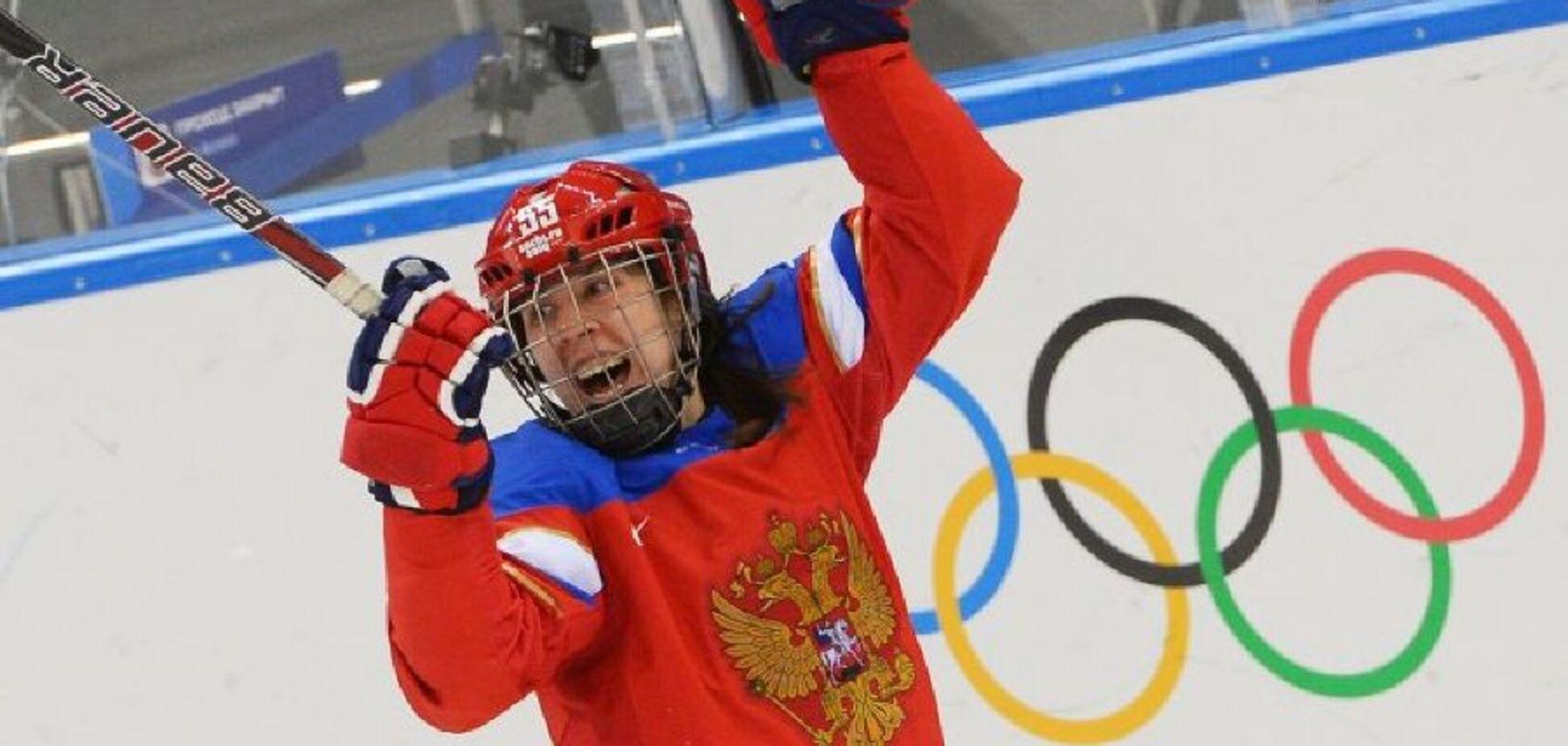 Жіноча збірна Росії з хокею