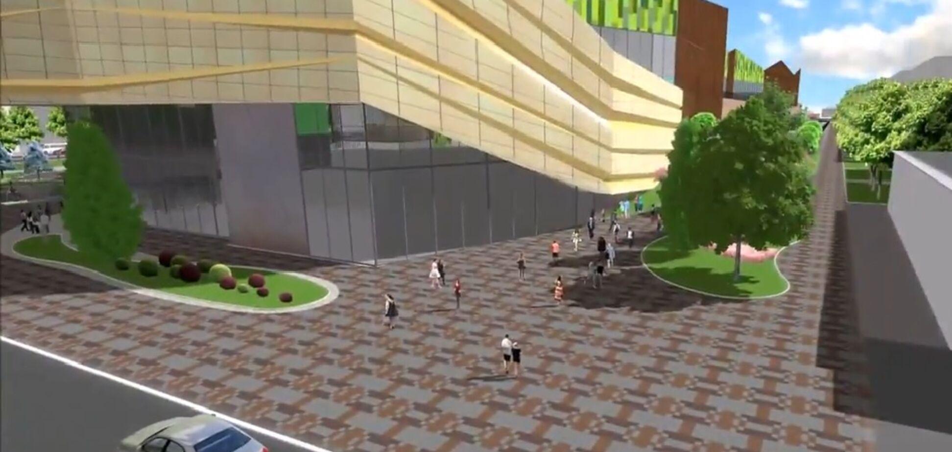 В Запорожье появятся современный парк и огромный торговый центр
