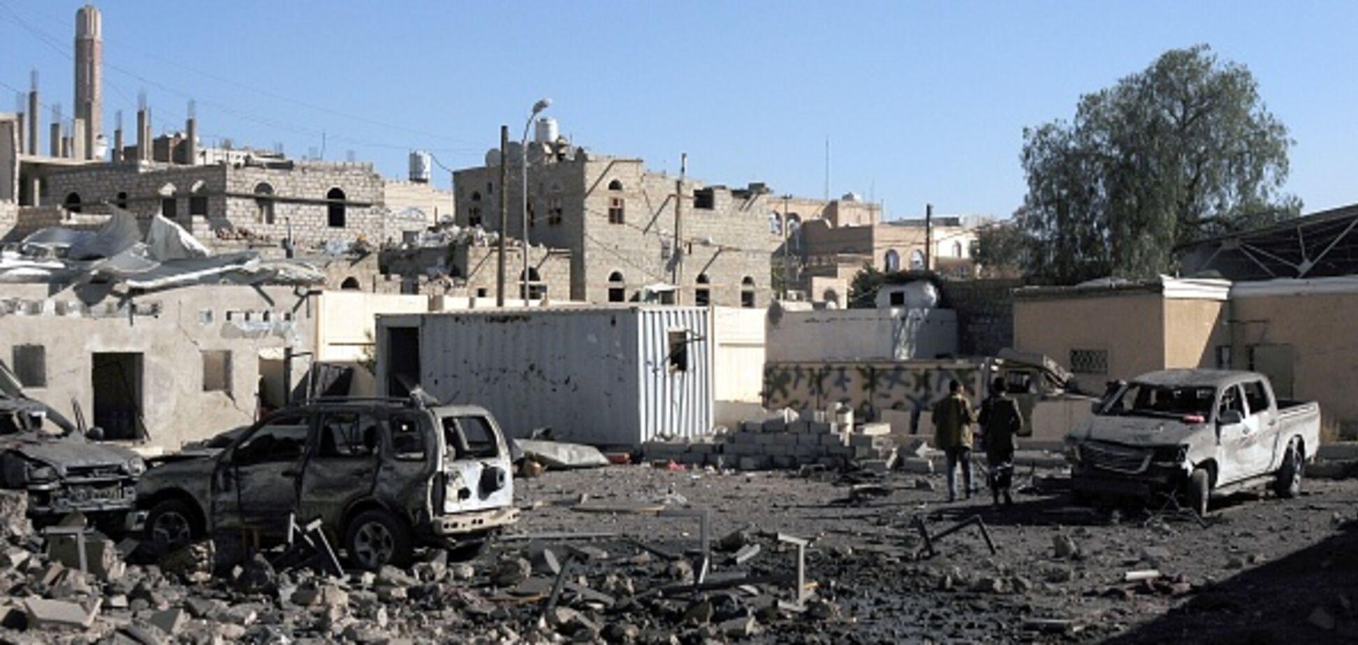 Арабська коаліція скинула бомби на столицю Ємену: десятки жертв