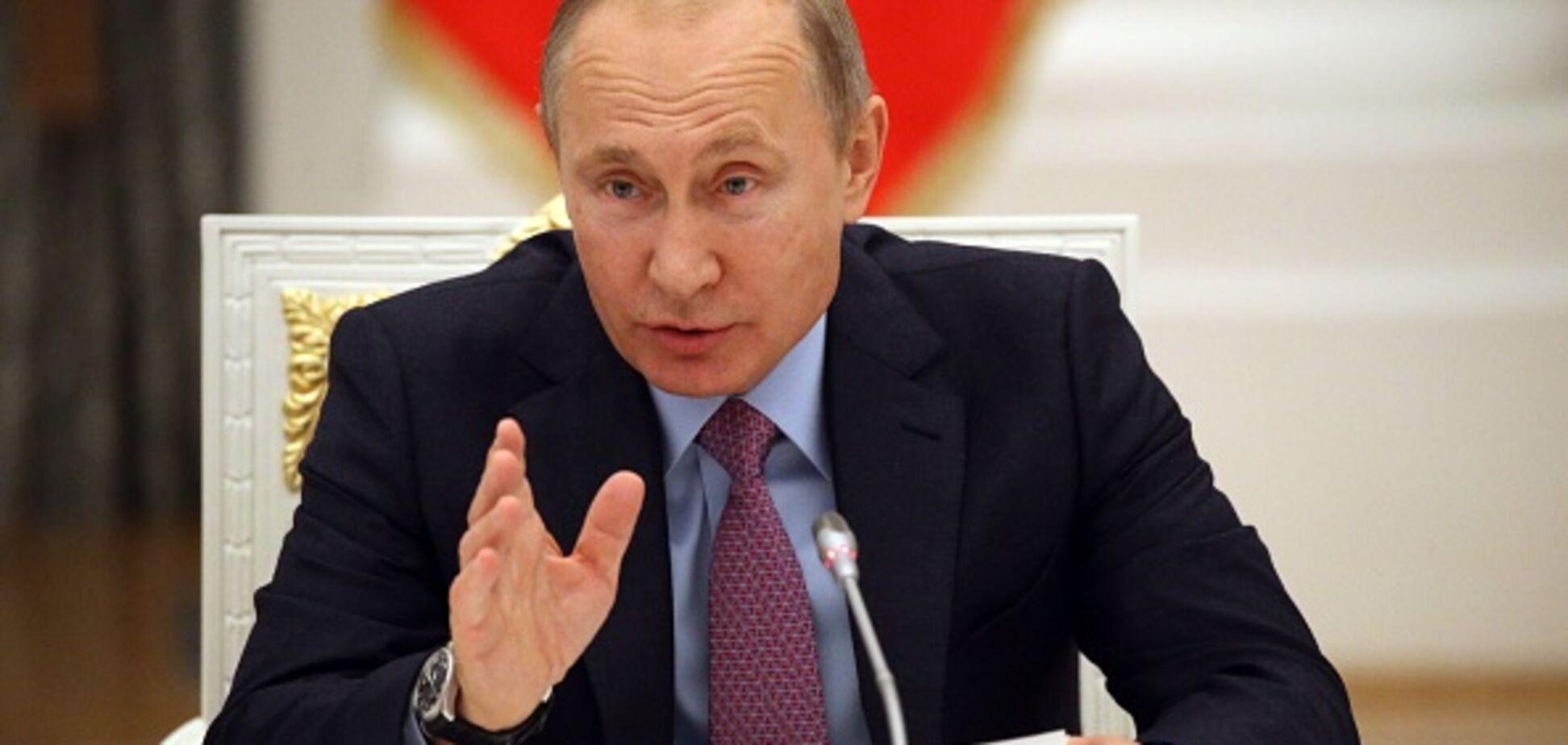 'Как вы это терпите?!' Путин впал в истерику, говоря о Саакашвили