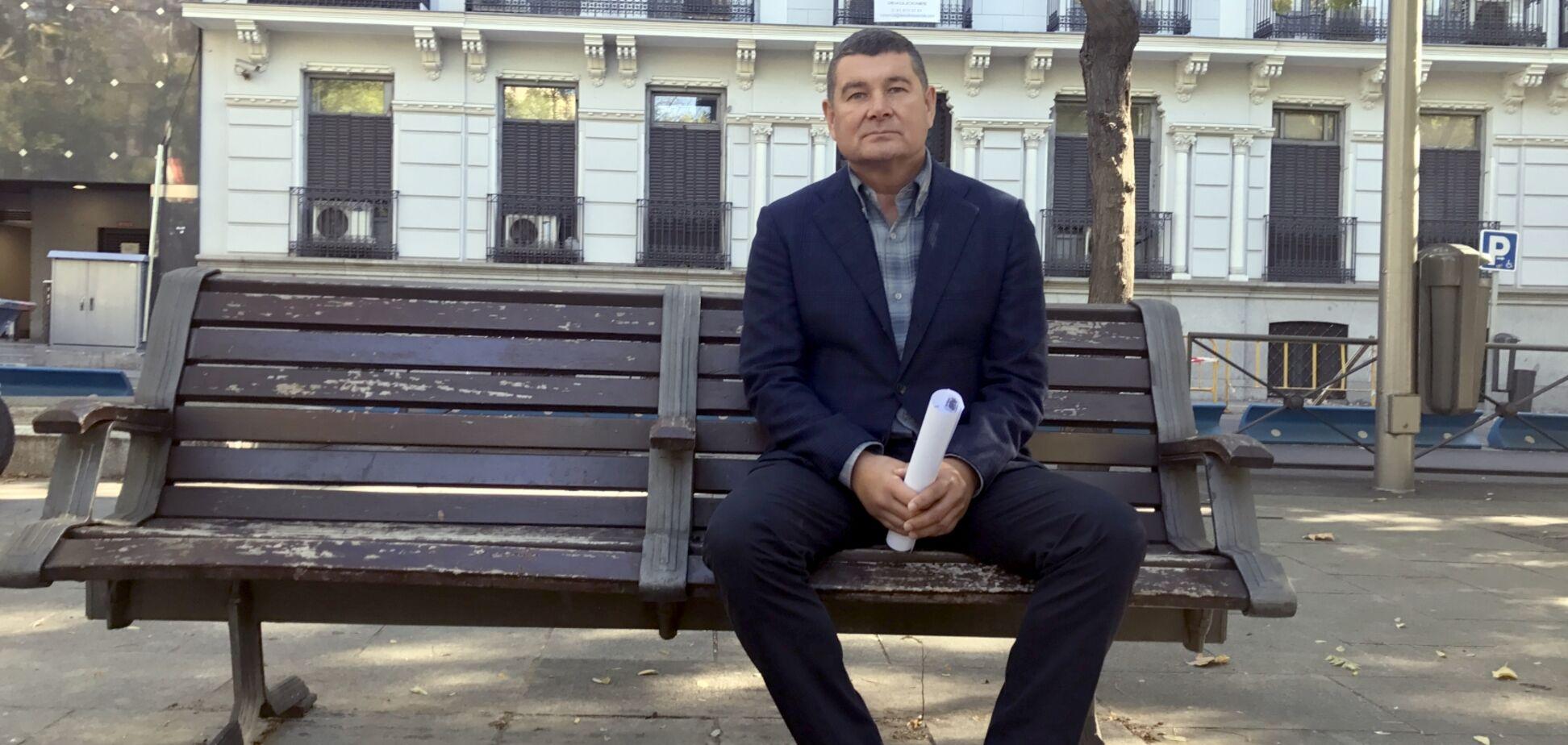 Беглеца Онищенко засекли в Европе на коне: опубликовано фото