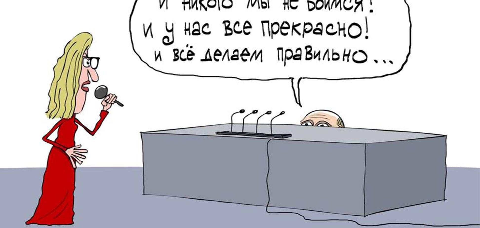 Известный художник передал суть пресс-конференции Путина одним рисунком: появилось фото