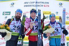 Вперше в кар'єрі: біатлоніст збірної України здобув дебютну медаль на Кубку IBU