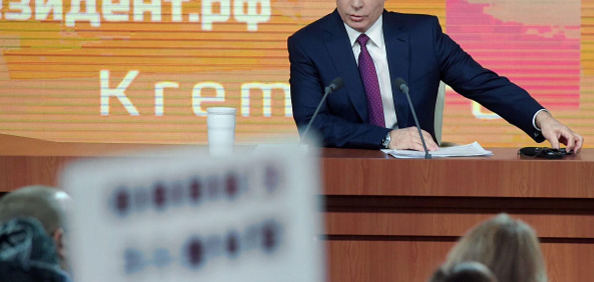 Путин снова 'запел' о единстве Украины и России