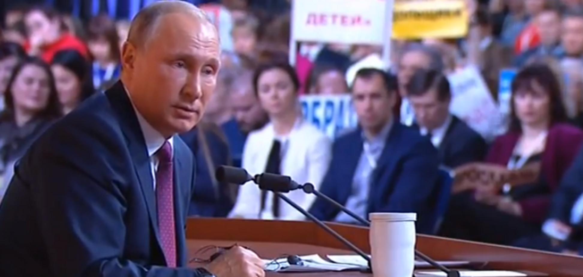 Путин объяснил гонку вооружений в России, рассказав 'бородатый' анекдот