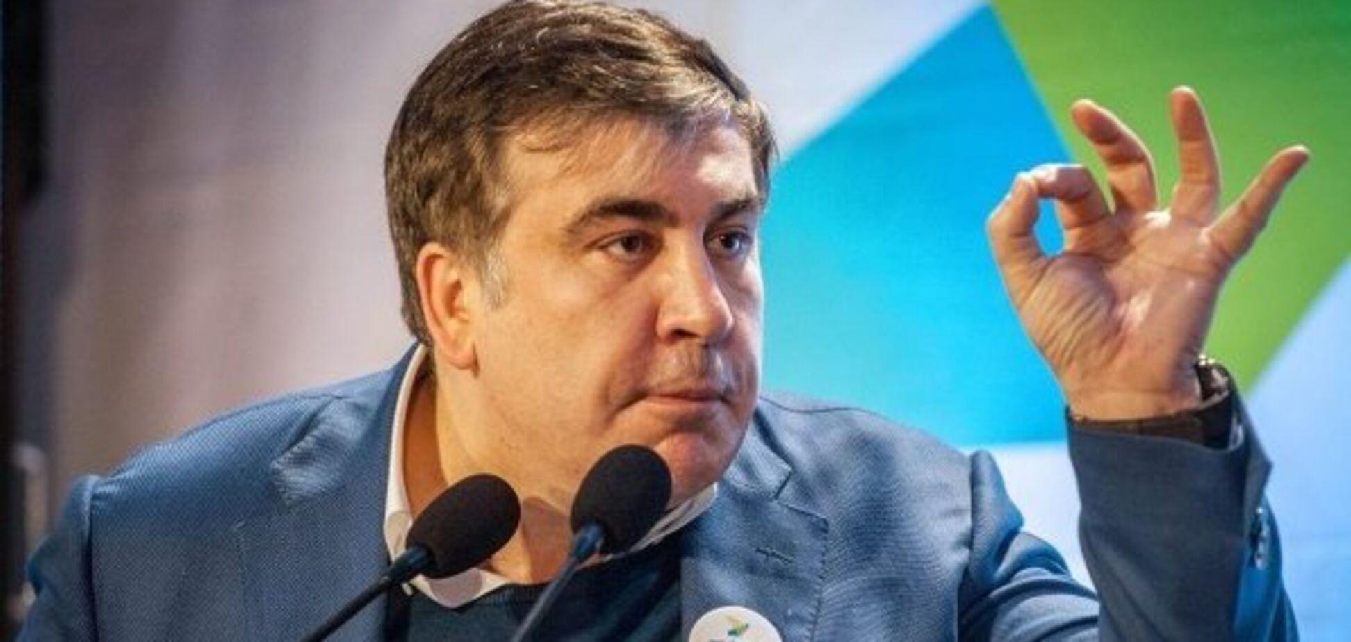 Саакашвили подтвердил, что написал скандальное письмо Порошенко